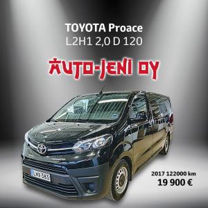 19 900 € | TOYOTA Proace 2017