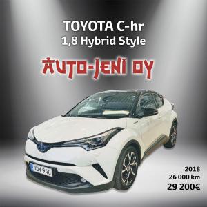 29 200 €   Toyota C-hr 2018