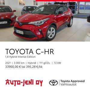 33 900 € | TOYOTA C-HR, 2021