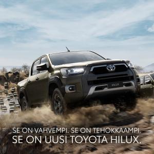 Uusi Toyota Hilux