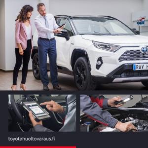 Toyota Hybrid -huolto