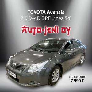 7 990 €   TOYOTA Avensis 2010