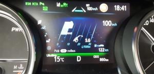 Eka tankillinen alkaa olla Camryllä ajettu. 5,6 l/100km... ei ole muuten paha tämän kokoiselle ja tehoiselle autolle 😮 Ja hei! On muuten testattukin.. 😉