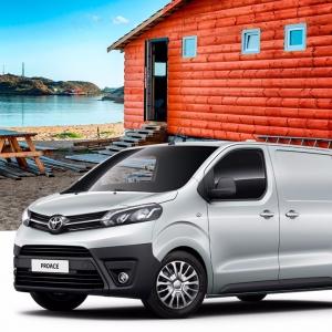 Erään Toyota Proacea nyt huippu edut Auto-Jenistä 🤗